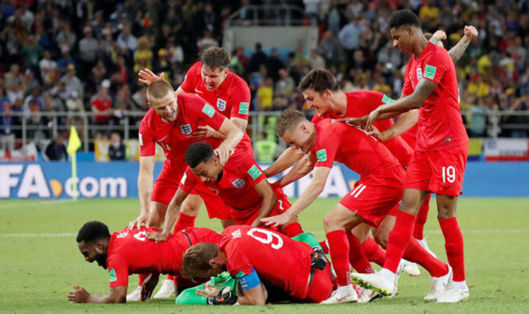 England vs Columbia